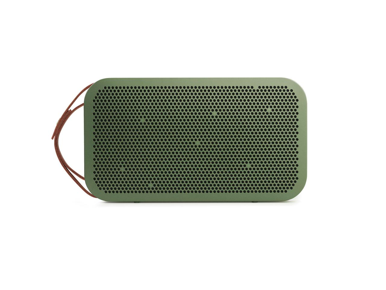 The BeoPlay A2, shown in green