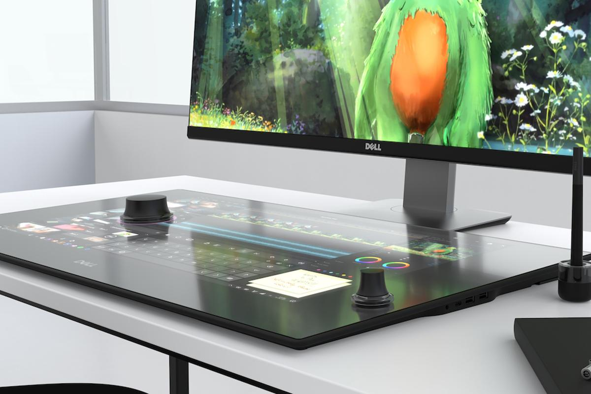 Dell has unveiled a new lineup of devices at CES this week, including a digital artist's workspace called the Canvas