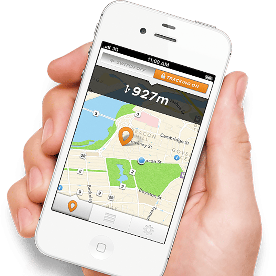 The Lock8 app allows you to track your stolen bike