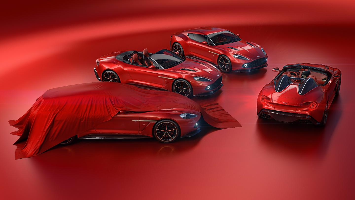 The Aston Martin Vanquish Zagato family