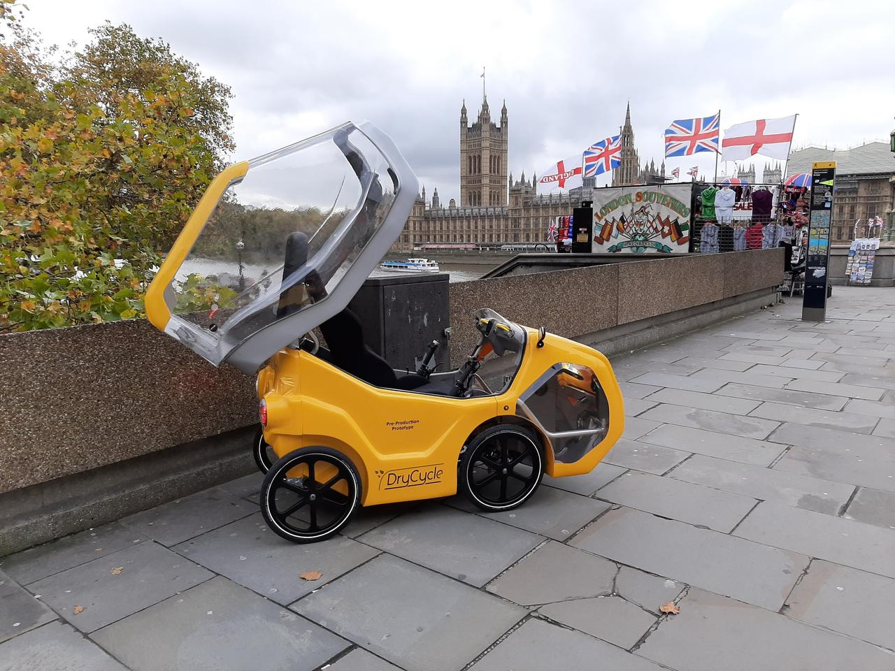 According to the company, the DryCycle can legally be ridden anywhere that bicycles are allowed