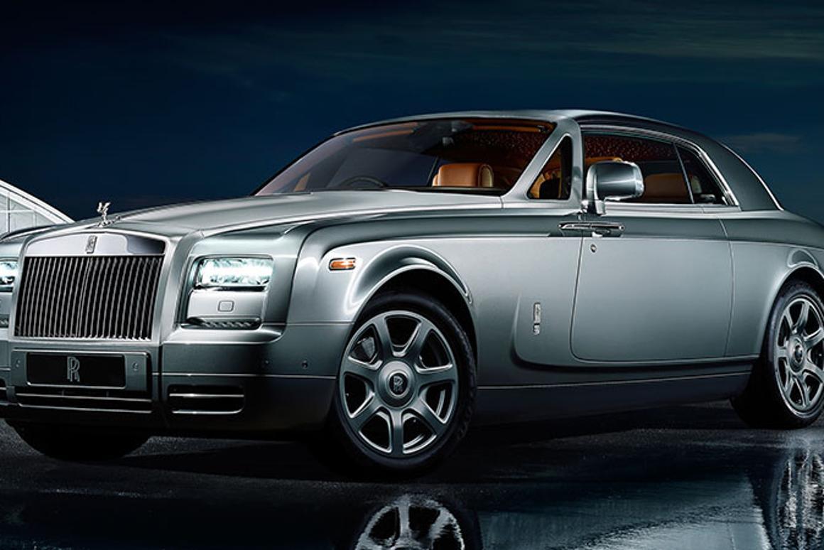 The Rolls-Royce Phantom Coupe Aviator