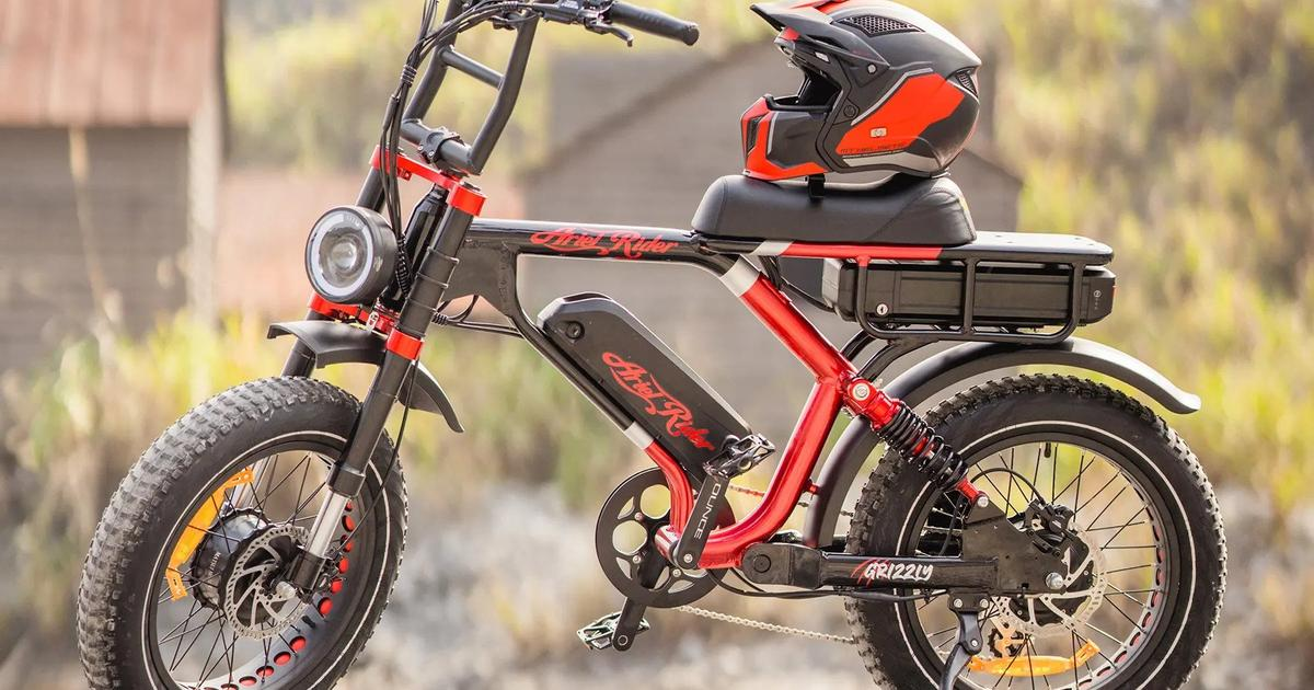 Dual-motor, dual-battery Grizzly offers a lot of ebike for the money
