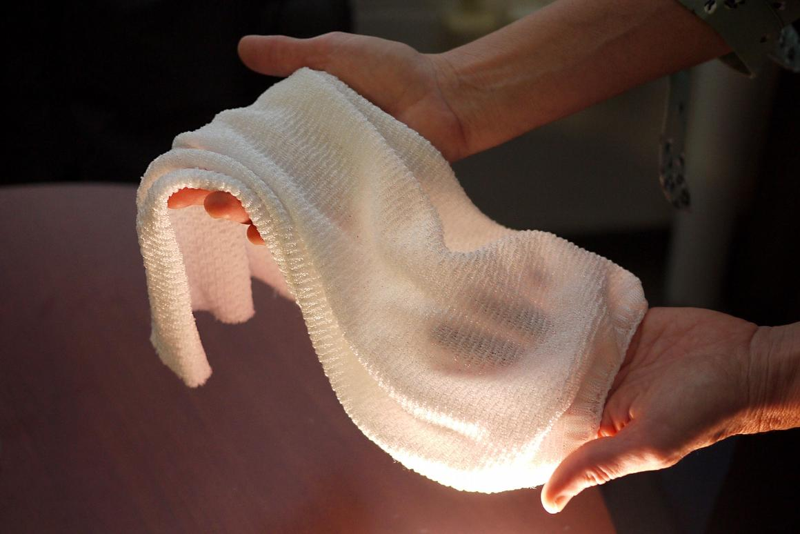 A new fabric can sense body heat and automatically vent it to the outside air