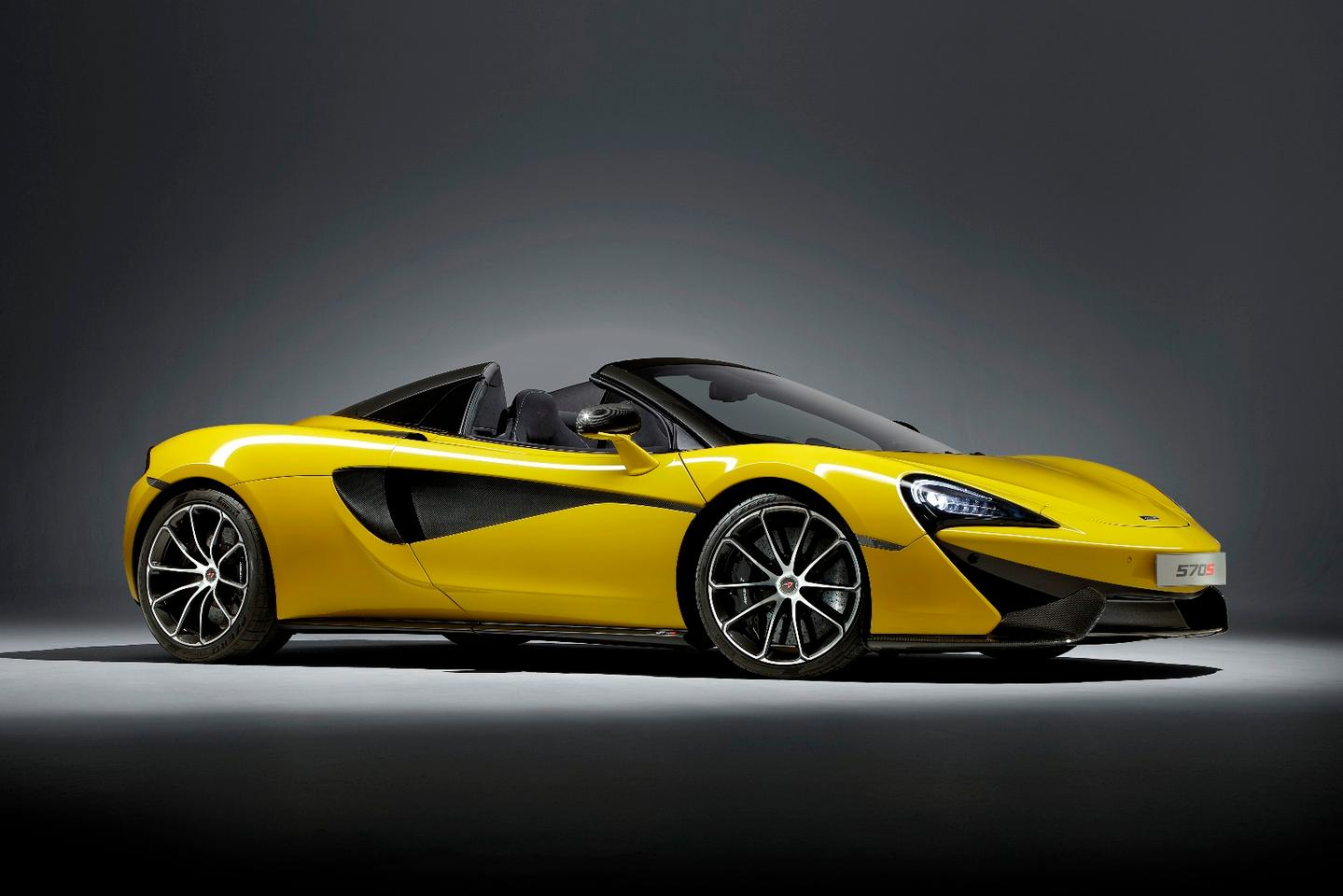 The new McLaren 570SSpider promises to deliver all the performance of the Coupe with a ton more sunlight