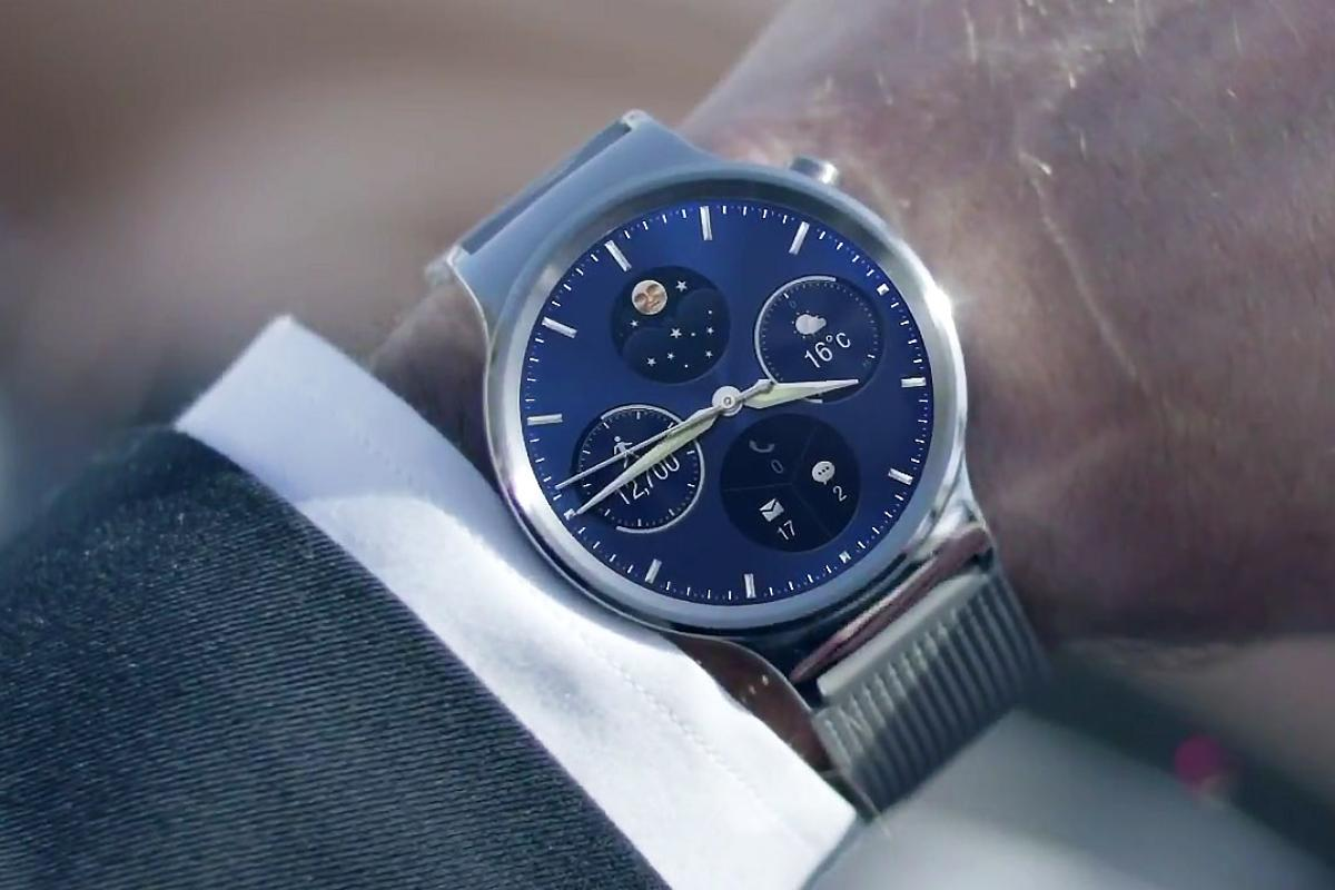 The Huawei Watch looks like one of the best-looking Android Wear watches to date
