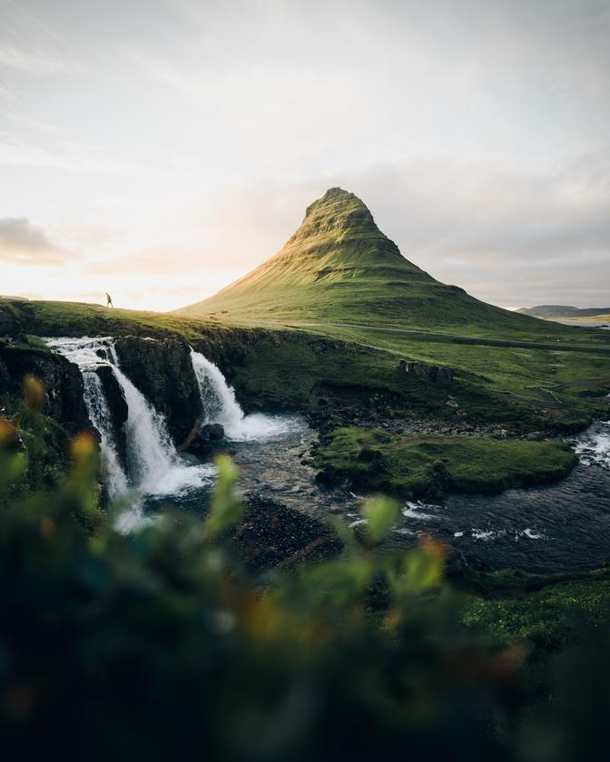'Iceland alive in the summer'. Kirkjufell Mountain, Iceland