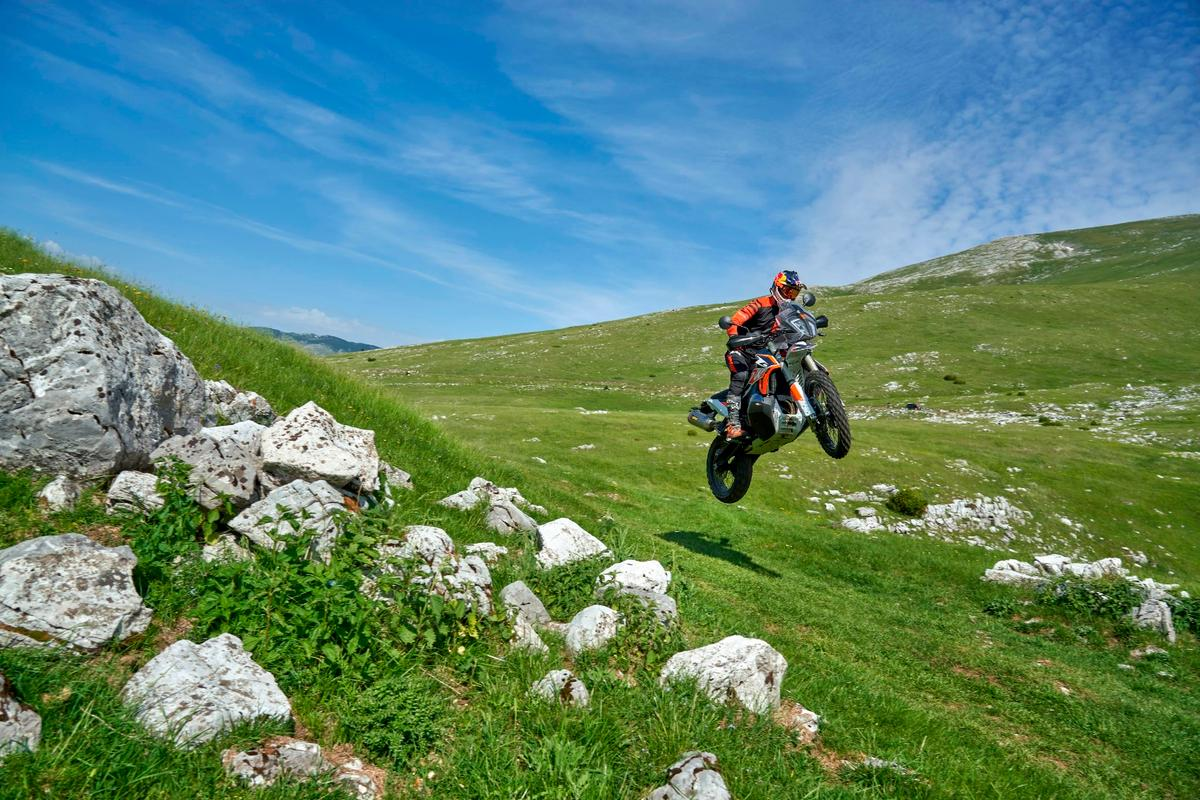 The hills are alive with the sound of KTM and Akrapovic