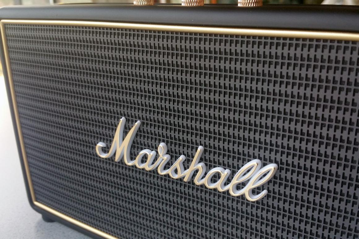 Review: Marshall's Stockwell speaker is more glam than jam