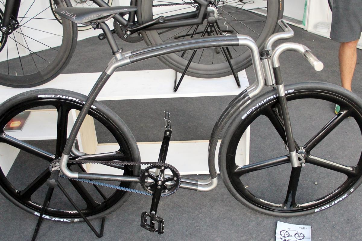 The Viks Carbon, on display at Eurobike 2015