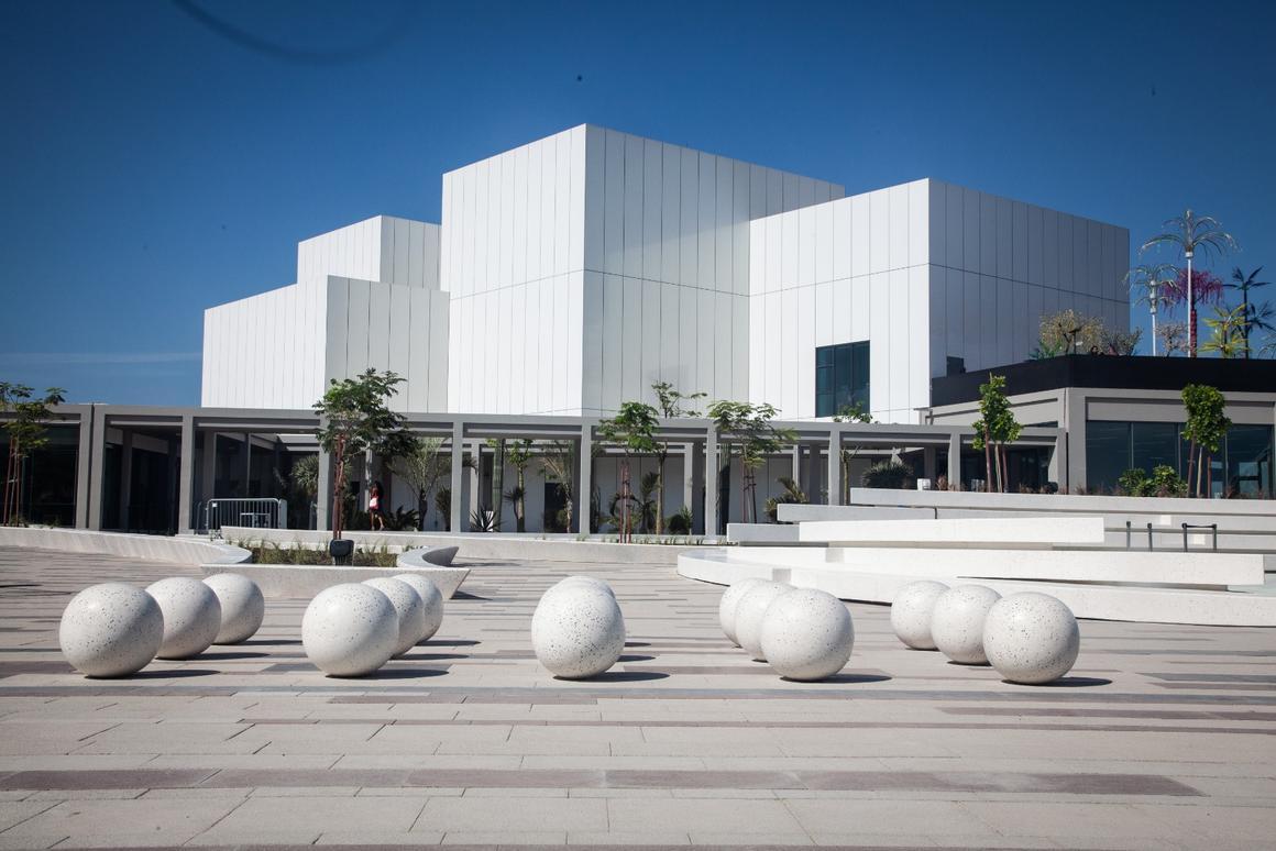 The Jameel Arts Centre opened in Dubai last week