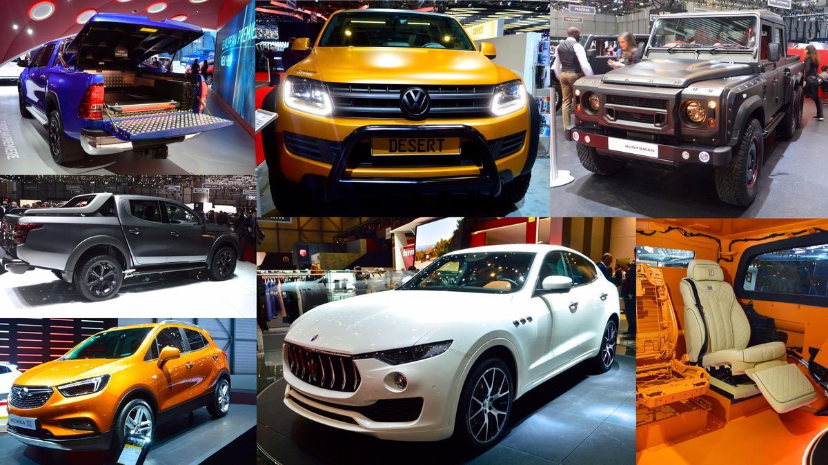 Trucks, SUVs and more, Geneva Motor Show 2016