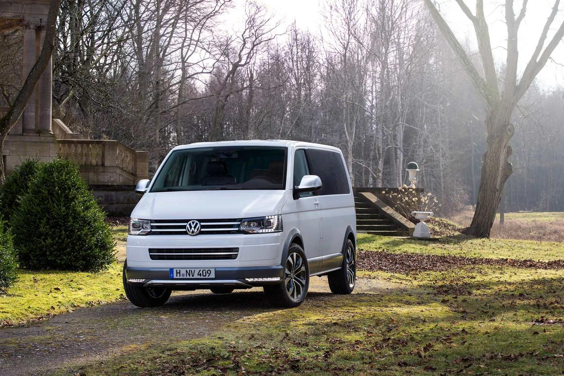 """The 2014 Volkswagen Multivan Alltrack concept is a van for """"any task and every route"""""""