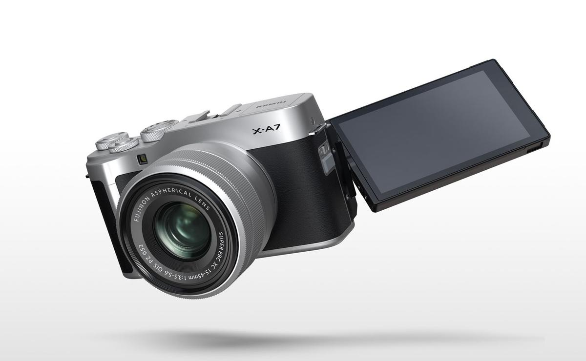 The Fujifilm X-A7 is built around a brand new CMOS image sensor