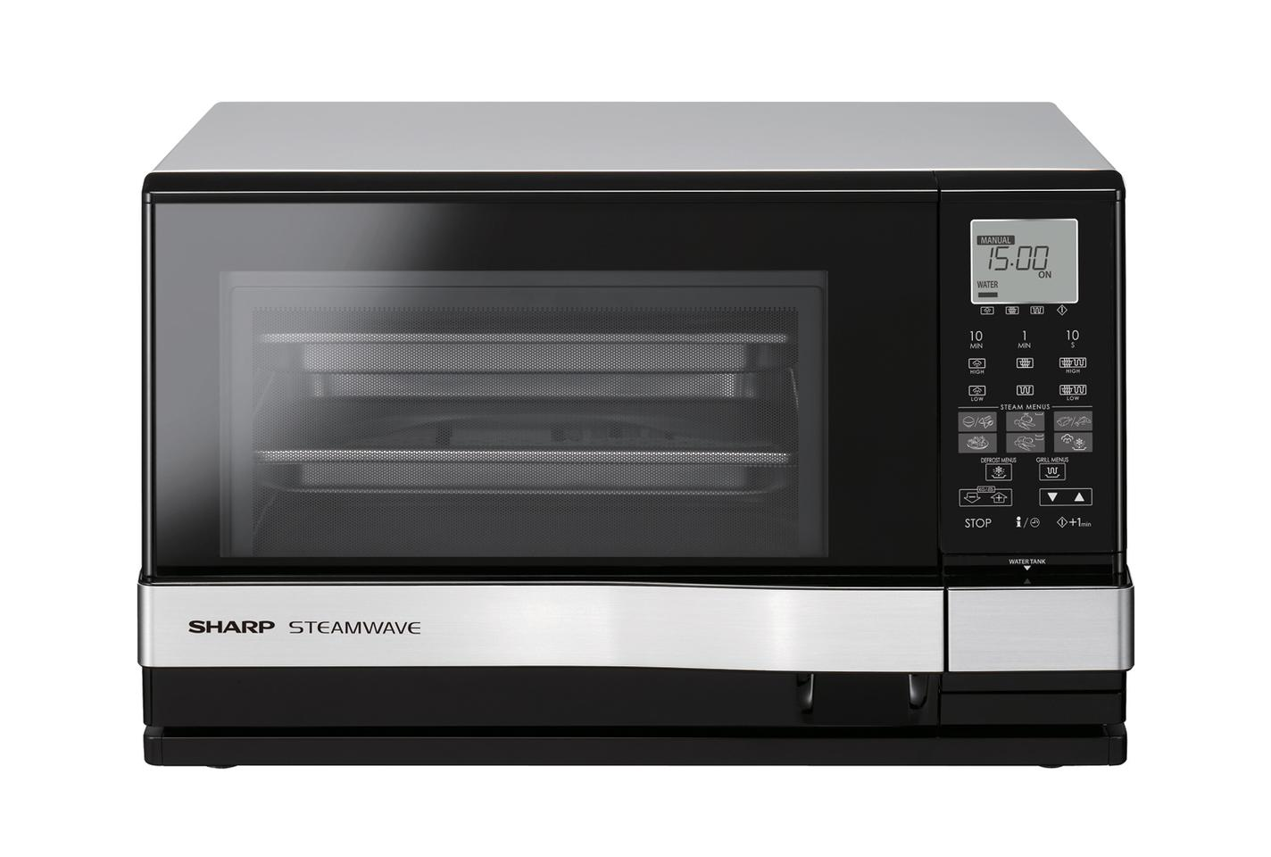 Sharp Shows New 3 In 1 Oven Steam Grill Microwave