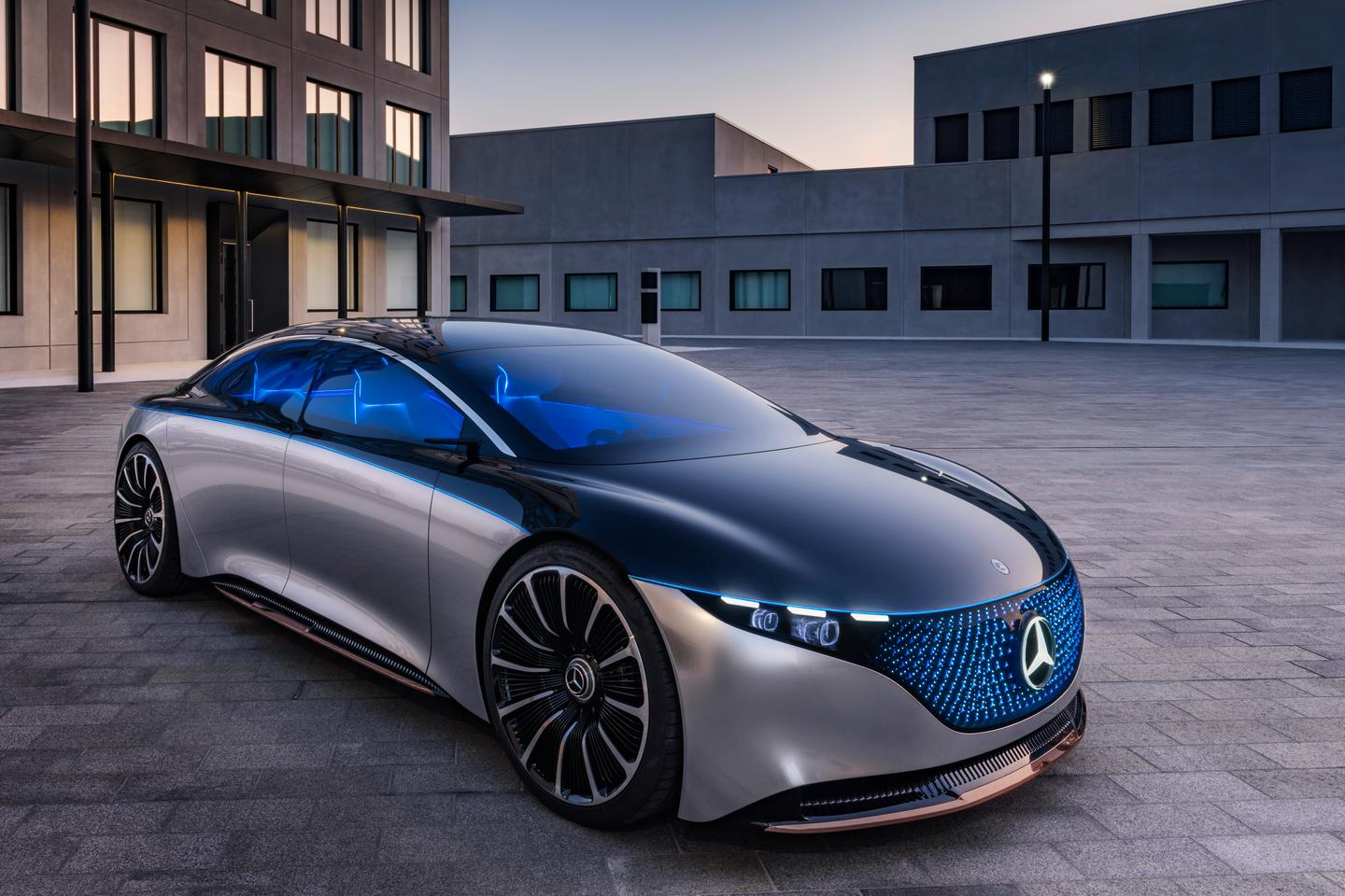 A vision for the future of luxury, in liquid metal, back glass and thousands of 3D LEDs