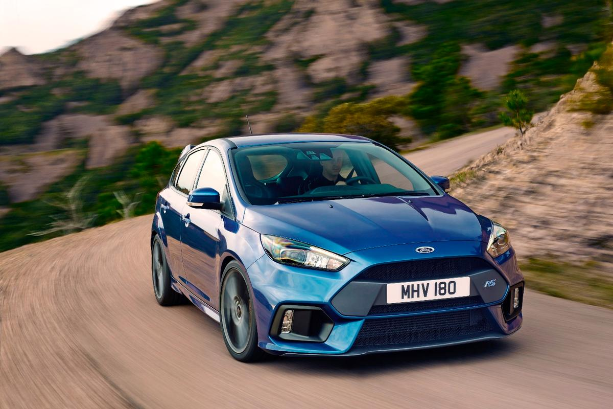 The new Ford Focus RS is the 30th car to wear the esteemed RS badge