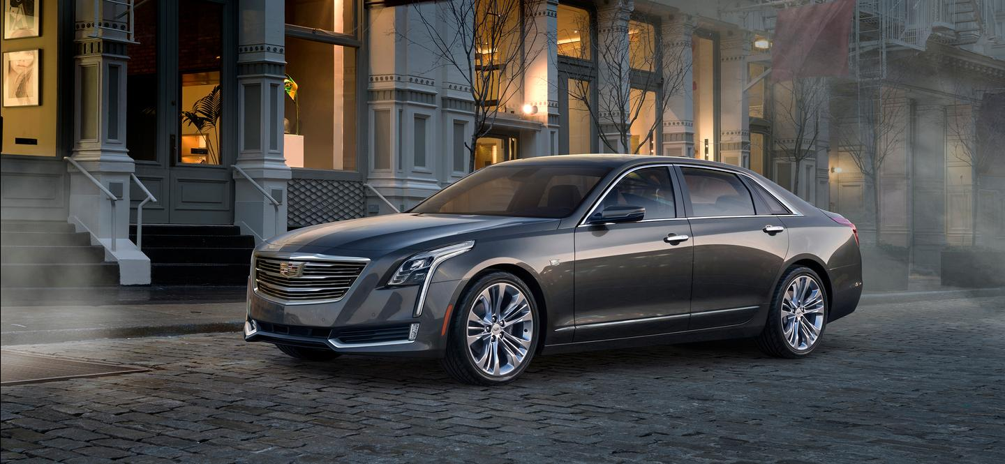 The all-new Cadillac CT6