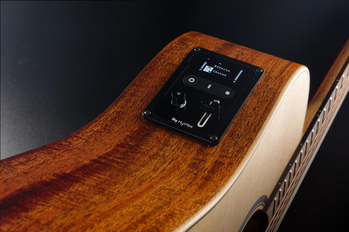 HyVibe's smart guitar technology is now available in kit form, for installation into any acoustic guitar