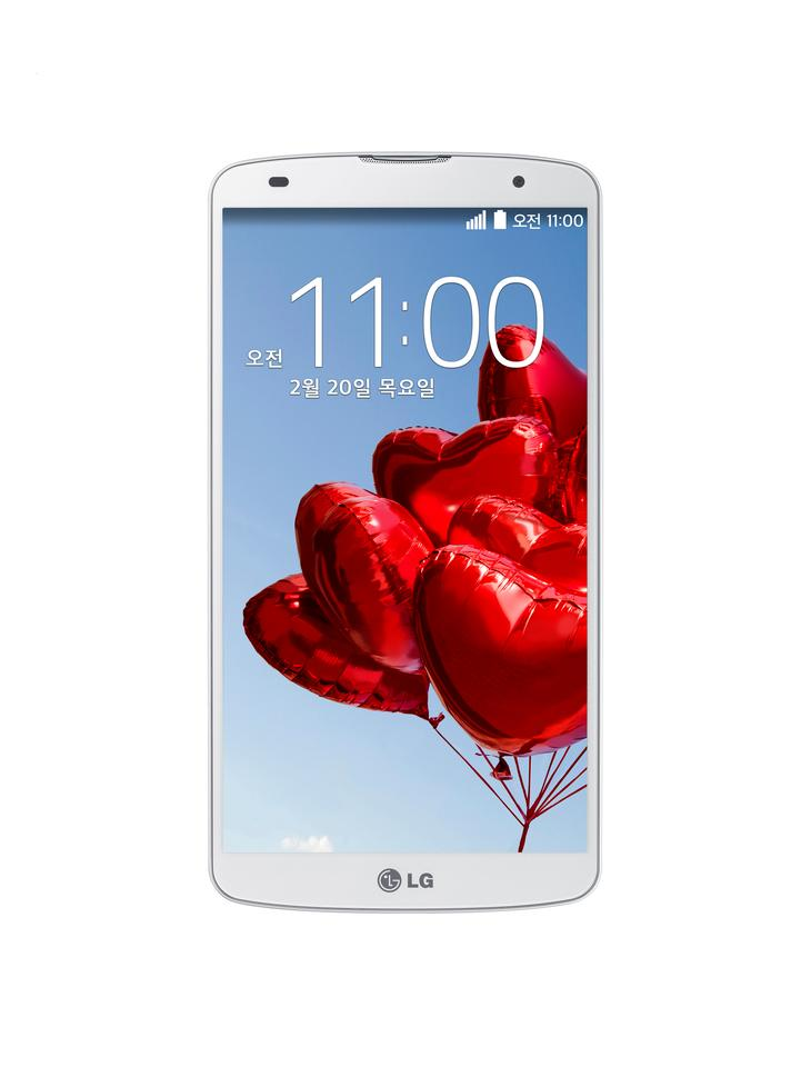 The LG G Pro 2 boasts a 5.9-inch IPS display