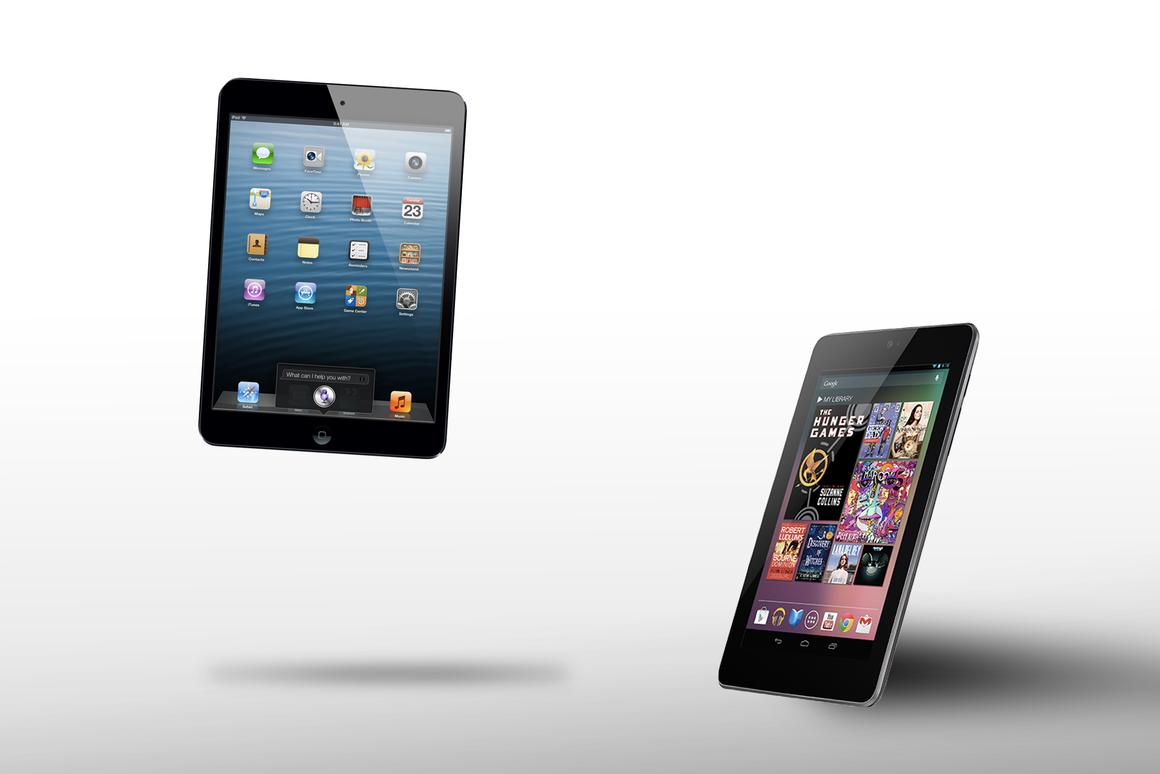 How does the iPad mini compare to the Nexus 7?