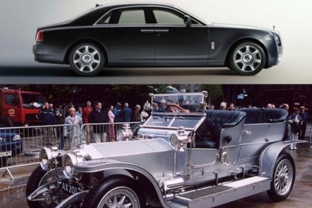 The original Silver Ghost was one of the most beautiful Rollers ever built. Silver Ghost image courtesy Malcom Asquith