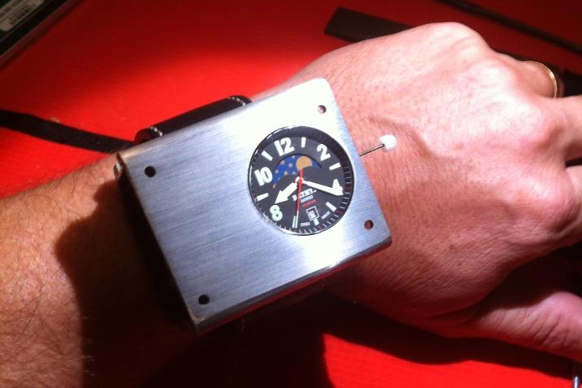 Bathys Hawaii's Cesium 133 atomic watch – a smaller model is on its way