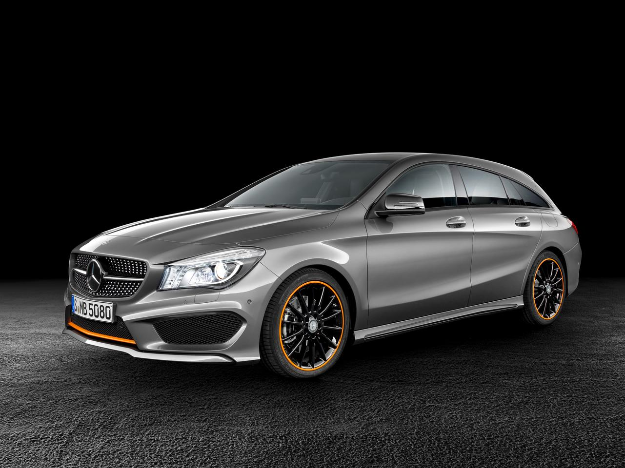 The Mercedes CLA Shooting Brake is a sleek wagon to join the four door coupe