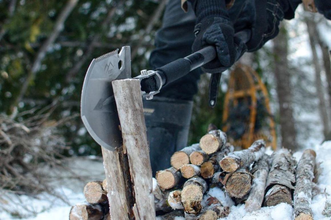 The EST Shovel in action