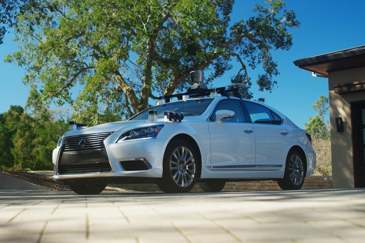 The TRI's 2.0 generation advanced safety research vehicle will serve as a testbed for autonomous driving technologies