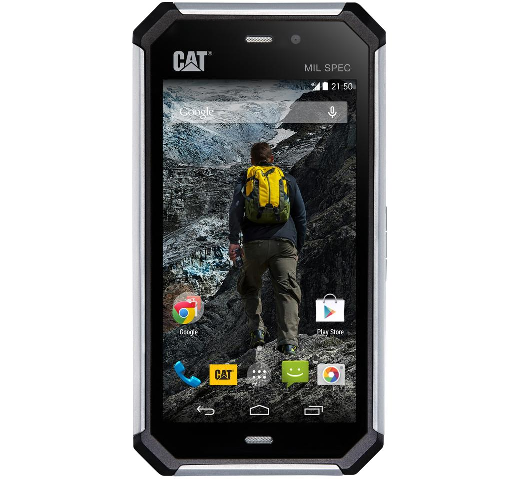 Cat's new S50 smartphone is designed to be rugged