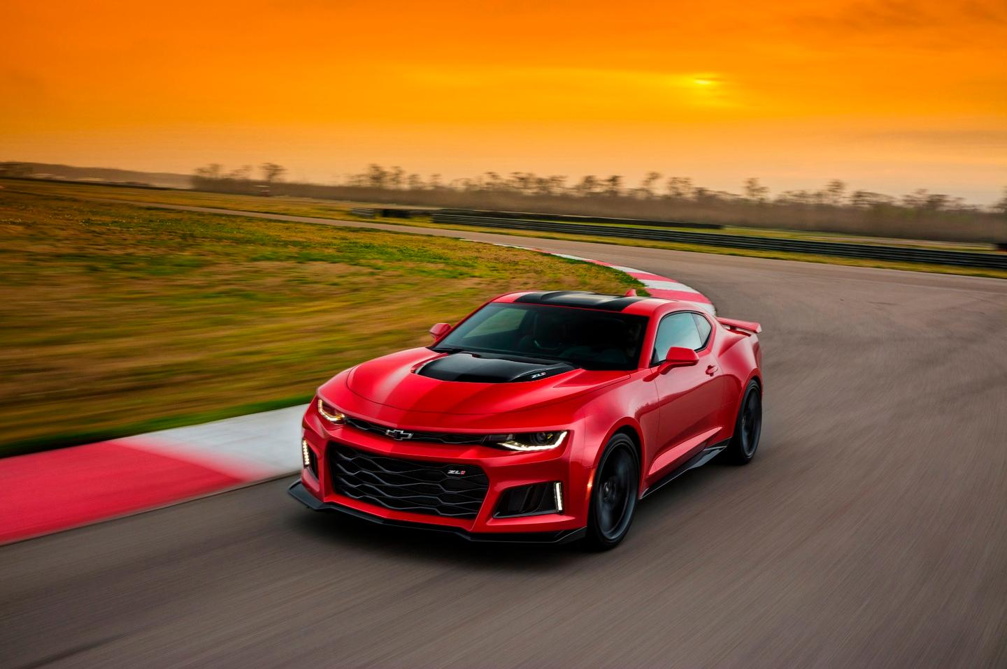 The Chevrolet Camaro ZL1 is packing a 640-hp supercharged V8