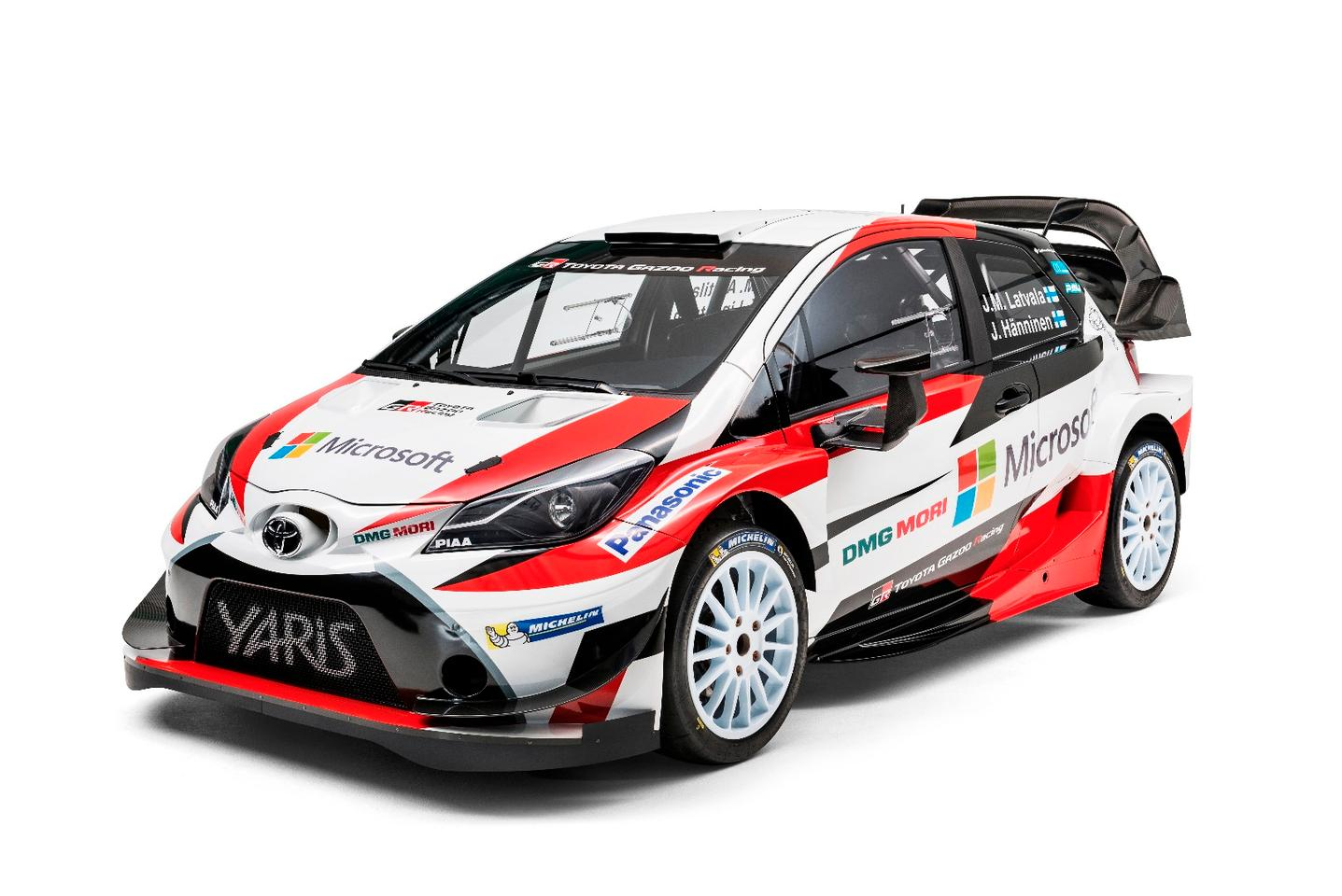 The big winged Yaris WRCwill take on gravel, tarmac and snow in 2017
