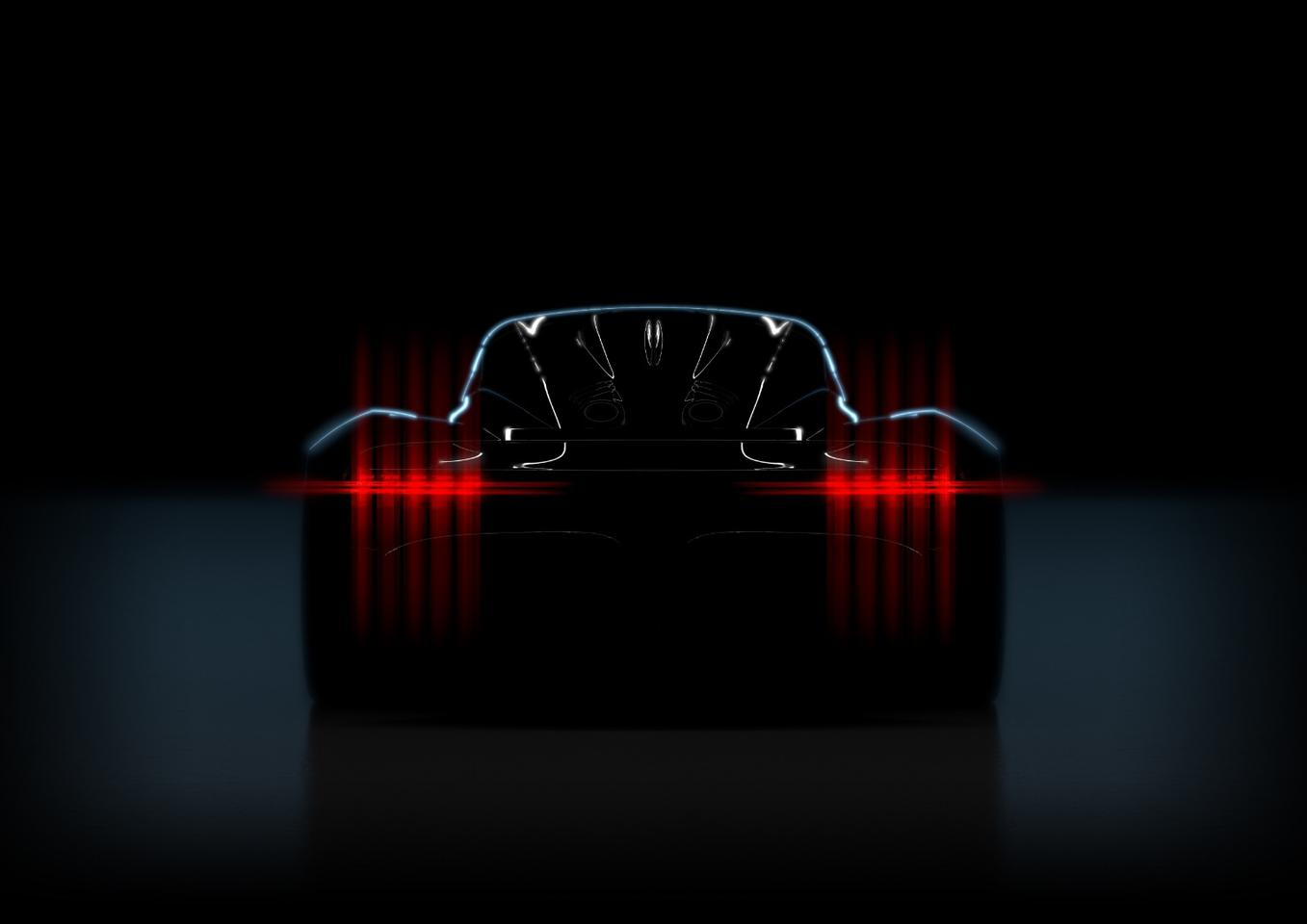 """Dubbed """"Project 002"""" for the moment, the new Aston Martin hypercar will use a turbo gasoline/electric hybrid powertrain"""