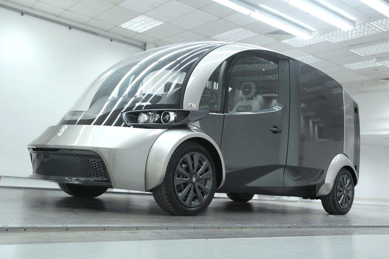 The Deliver electric van