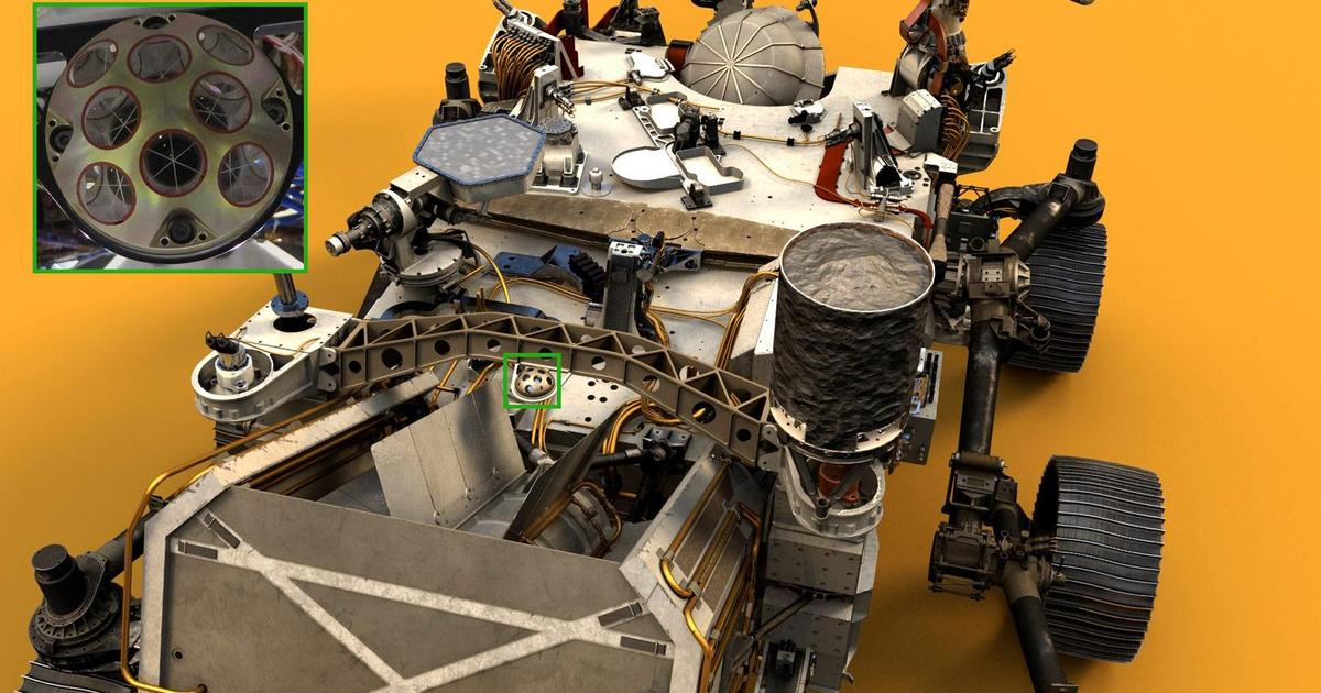 NASA's Perseverance rover will be a target for orbital lasers