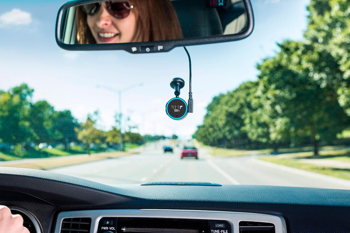 Drivers can now talk to Amazon's Alexa voice assistant using Garmin's Speak navigator
