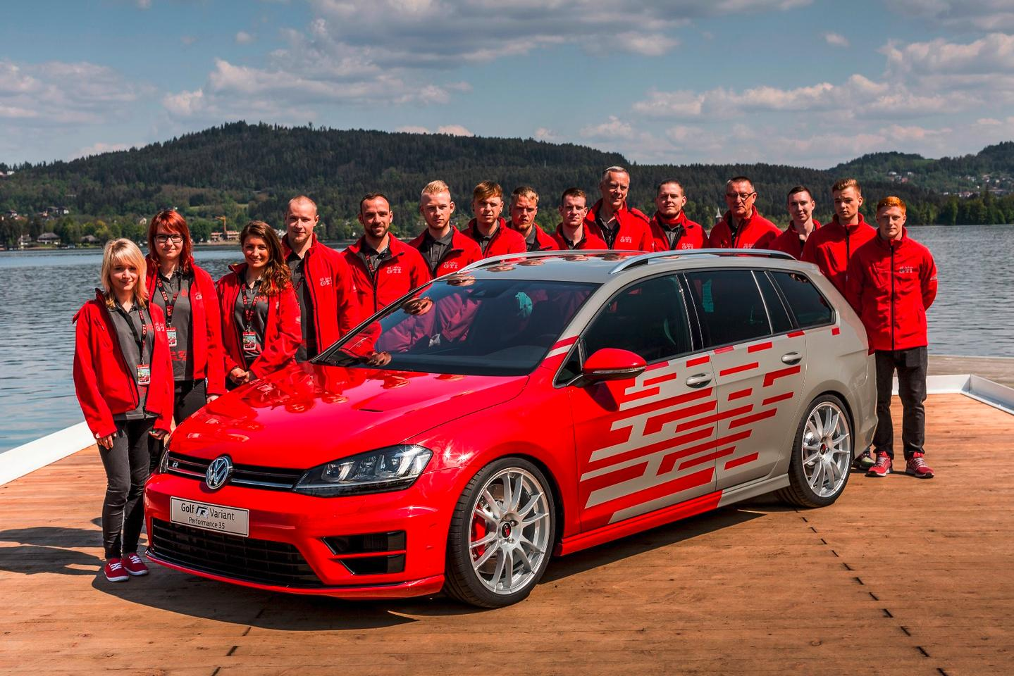 The Golf R Variant Performance 35 and the engineering team behind it