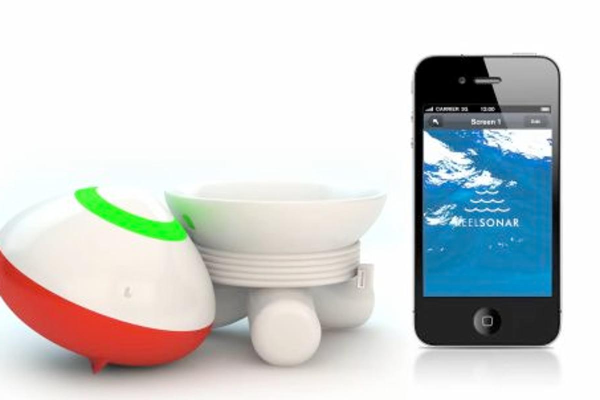 The ReelSonar bobber and app