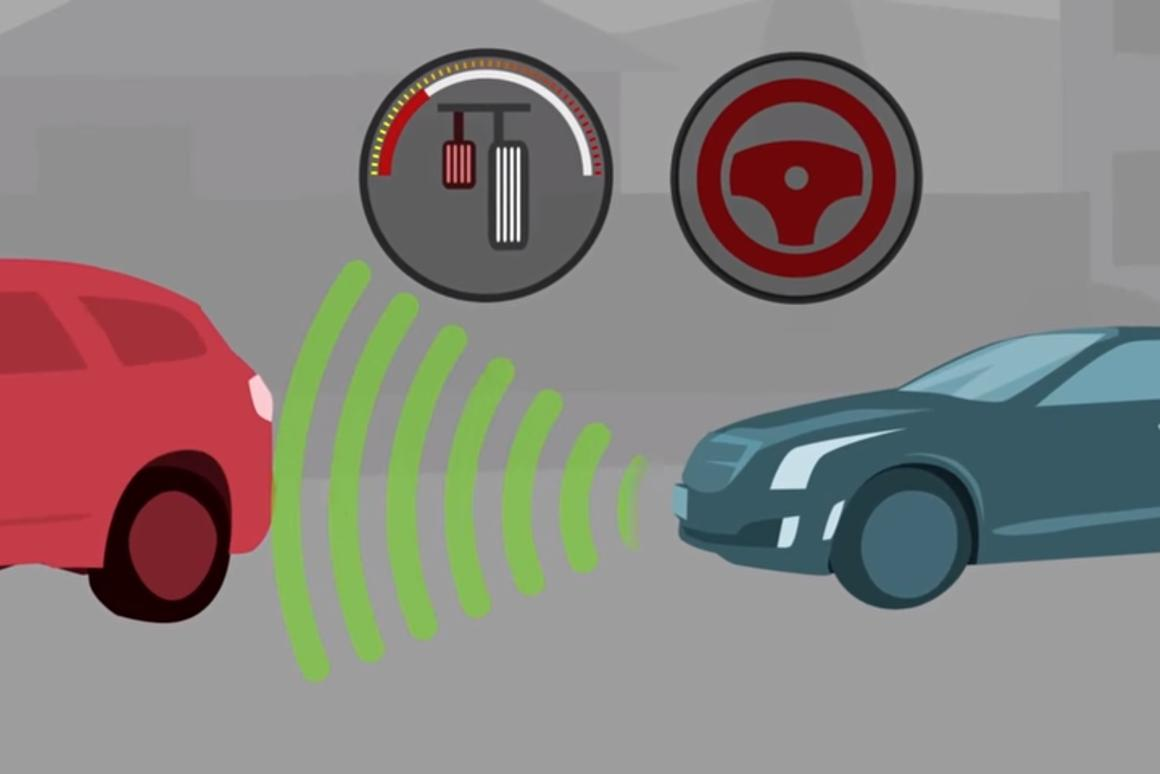 AEB systems typically warn a driver if they anticipate a potential collision with a vehicle sensed ahead and, If no evasive braking or steering action is taken, will automatically apply the brakes to prevent a crash or to reduce its severity