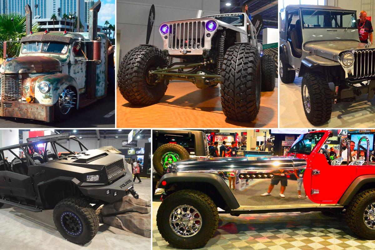New Atlas takes a look at the best trucks and 4x4s for this year's SEMA show