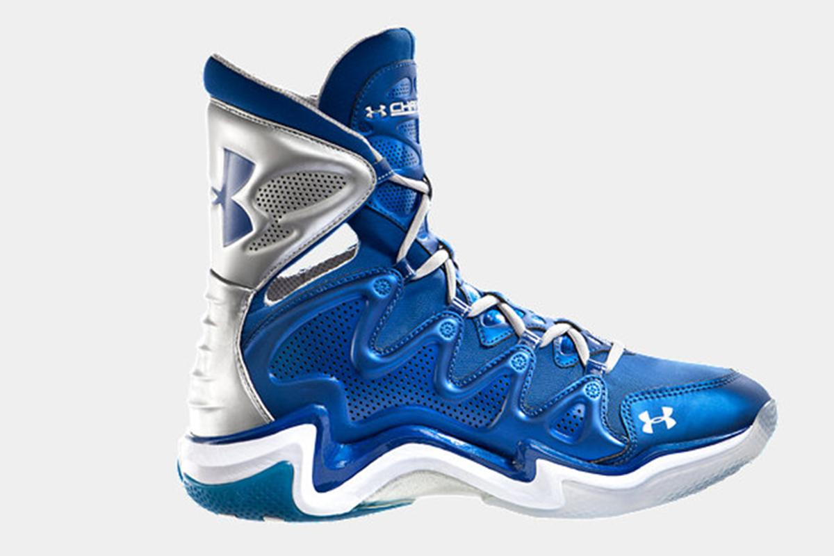 The UA Charge features articulating ankle support