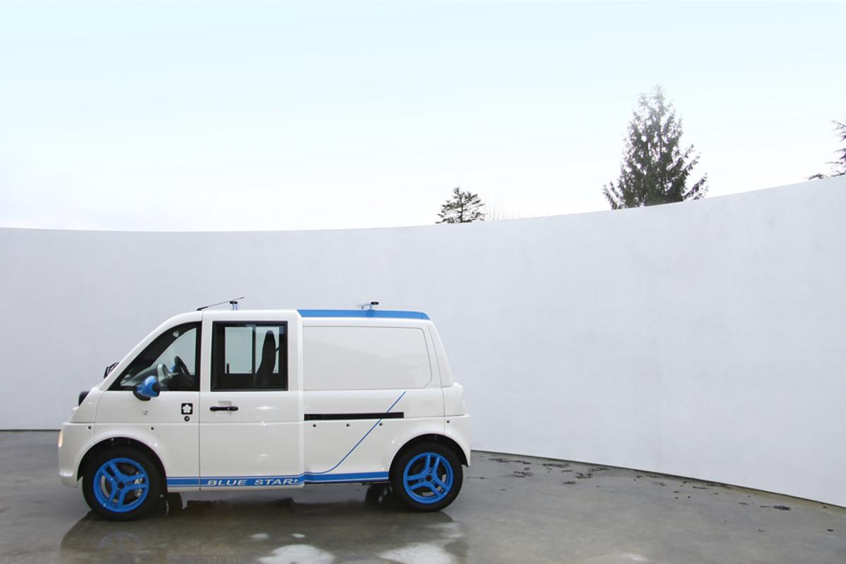 Mia-Electric is to launch a version of its electric microbus in the UK in the coming weeks