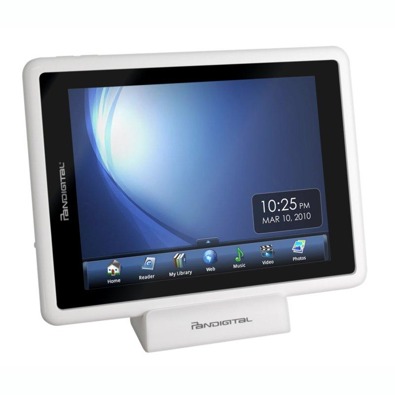 The device can also be used a media player, web browser and calendar - and of course a digital photo frame