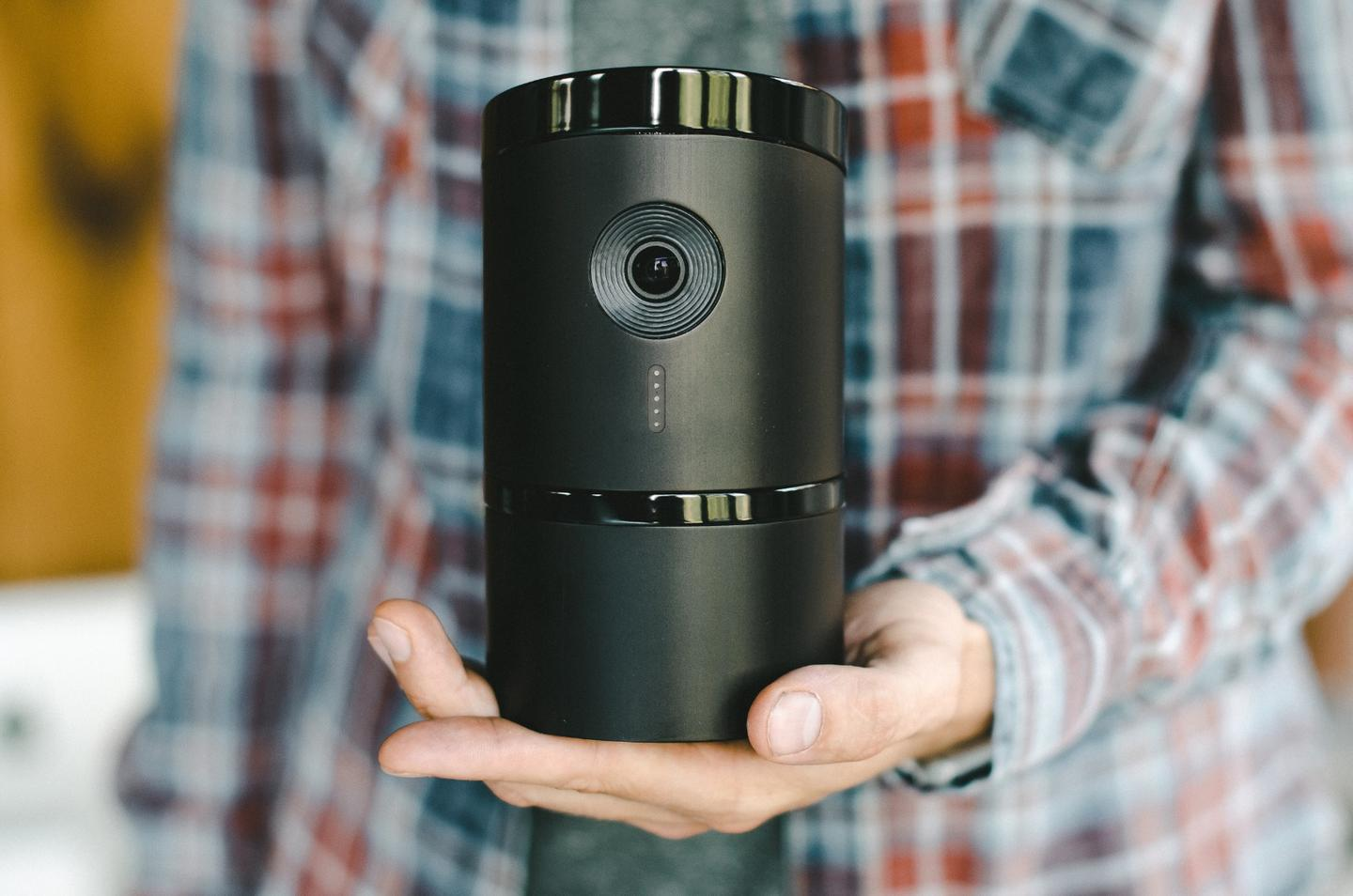The Angee cam can record and stream images