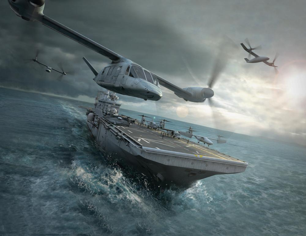Artist's concept of the V-280 Valor