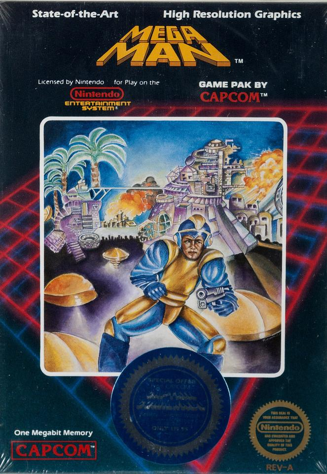 """On 24 November, 2019, the sale of this game was the first indication that retro game auction values were heading for the stratosphere. It is a sealed 1987 NES Capcom Mega Man graded 9.4 A+ by Wata. This example was owned by Dain Anderson of NintendoAge. In the game's original production run, the name of the primary villain in the description on the back of the box was """"Dr. Wright."""" On later examples, this was changed to """"Dr. Wily."""" This historic game not only marks the first in the series, but the first appearance of the character Mega Man himself. It fetched $75,000 at auction that day, but if it appeared again at auction this year, might fetch more than a million dollars."""