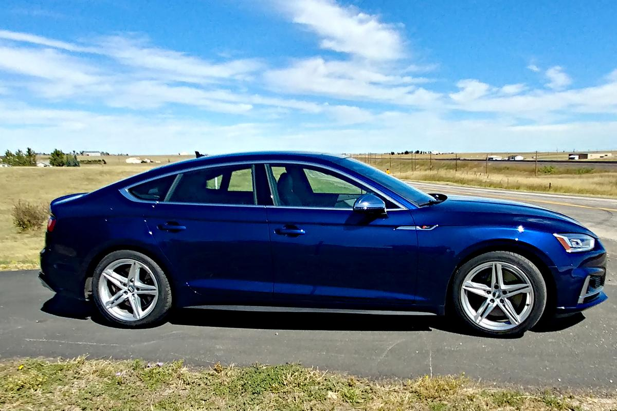 The 2019 Audi S5 Sportback starts at US$52,400 and was priced at $63,400 as we drove it