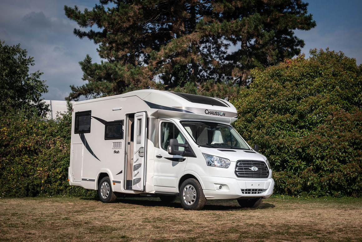 Power-lift beds make Ford Flash motorhome the Swiss Army