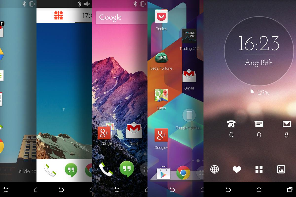 Android launchers provide a quick and relatively easy way to customize the Android experience